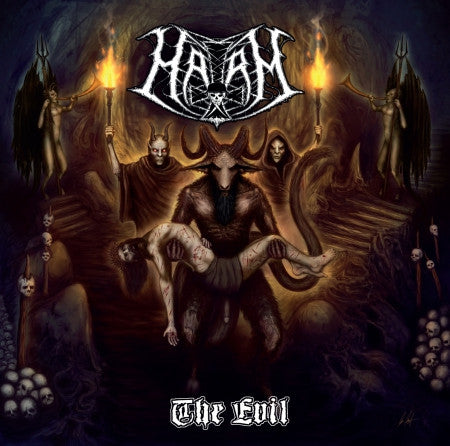 Harm- The Evil CD on Final Gate Rec.