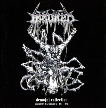 IMMURED- The Demo(n) Collection Complete Discography 1993-1998 CD on Sevared Rec.