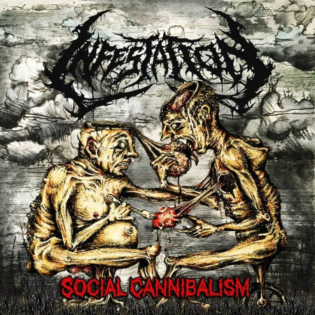 Infestation- Social Cannibalism CD on Rotten Roll Rex