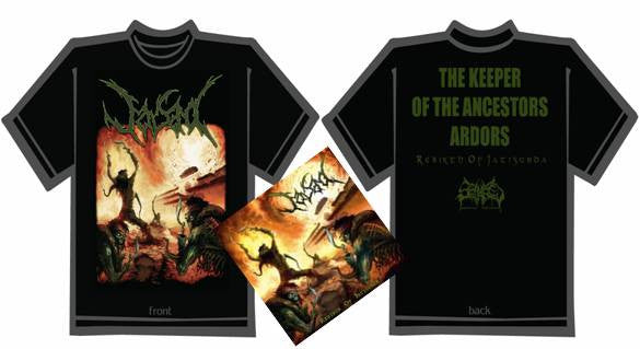 JASAD- Rebirth.. CD / T-SHIRT PACKAGE X-LARGE