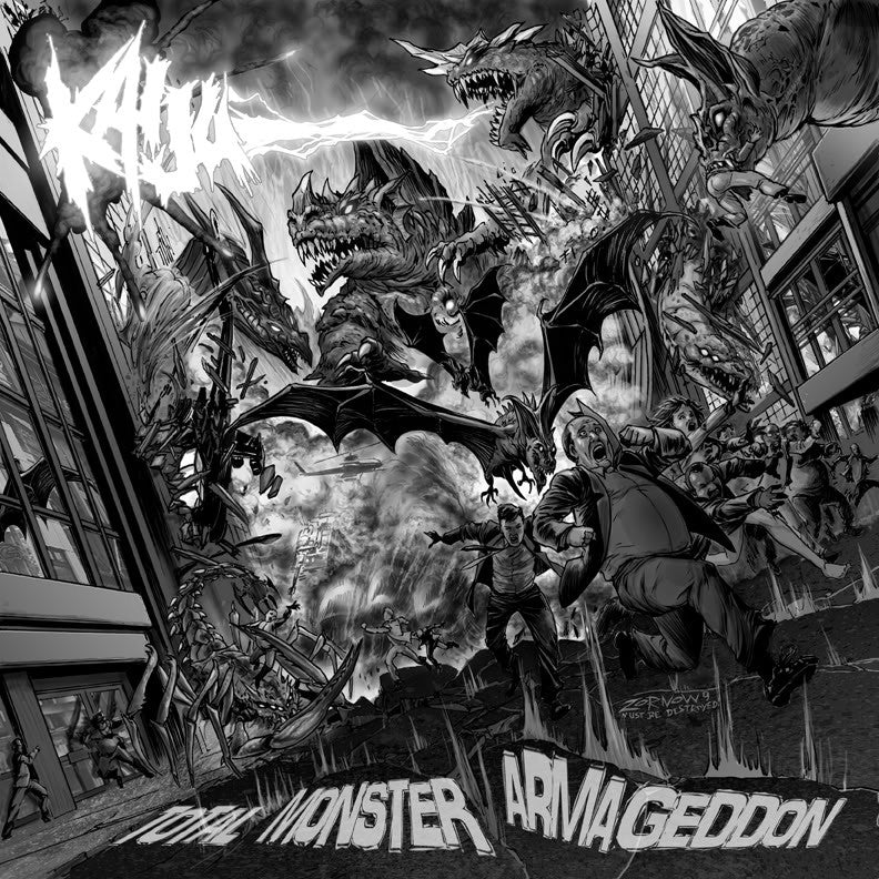 Kaiju- Total Monster Armageddon CD on Shephered Of Rot Rec.