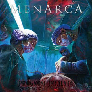 Menarca- Prognosi Infausta CD on Eyes Of The Dead Prod.