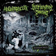 Mucupurulent / Ultimo Mondo Cannibale- Split CD on Rotten Roll R