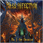 Mass Infection- For I Am Genocide CD on Comatose Music