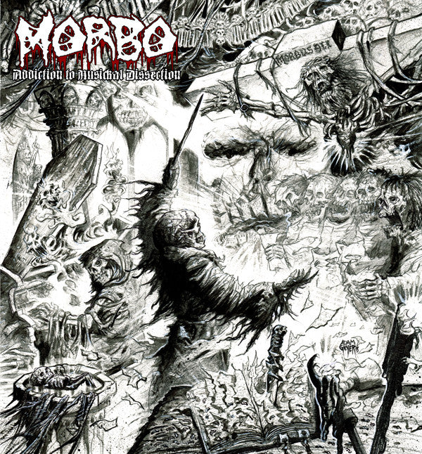 Morbo- Addiction To Musickal Dissection CD on Memento-Mori