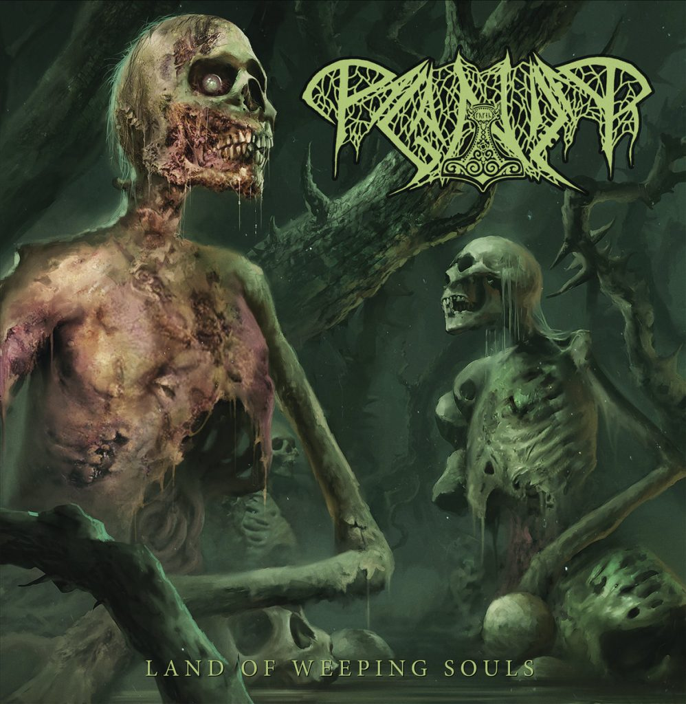 Paganizer- Land Of Weeping Souls CD on Transcending Obscurity Rec.