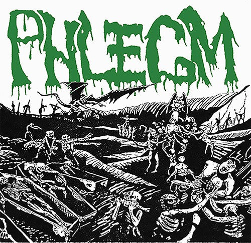 Phlegm- Consumed By The Dead DOUBLE CD on Necroharmonic Rec.
