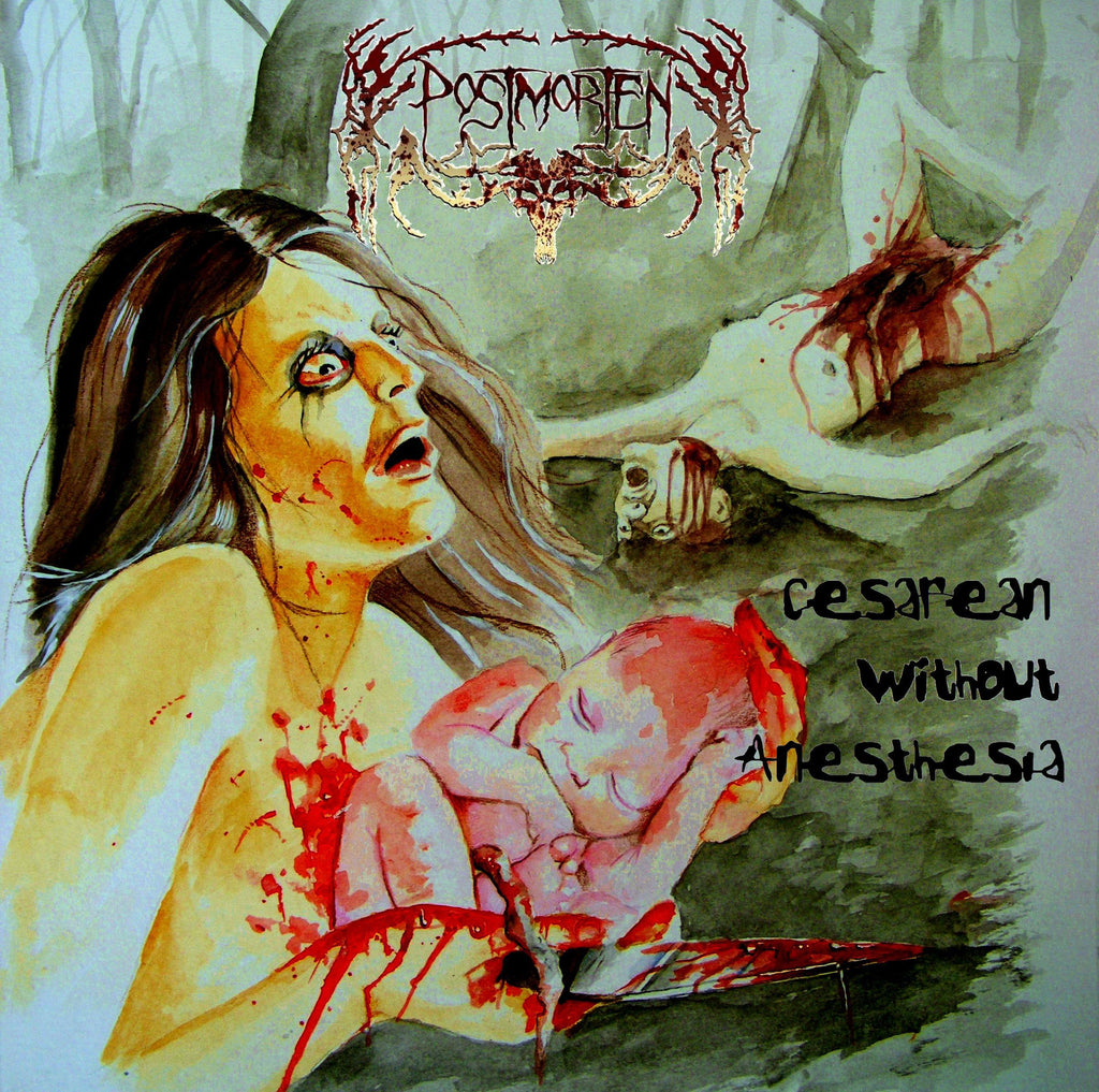 Postmorten- Cesarea Without Anesthesia CD on Karnsten Rec.
