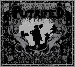 Putrified- Neurotic Necrotic DIGI-CD on Hellthrasher Rec.