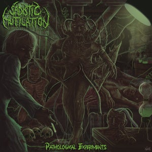 Sadistic Mutilation- Pathological Experiments CD on P.E.R.