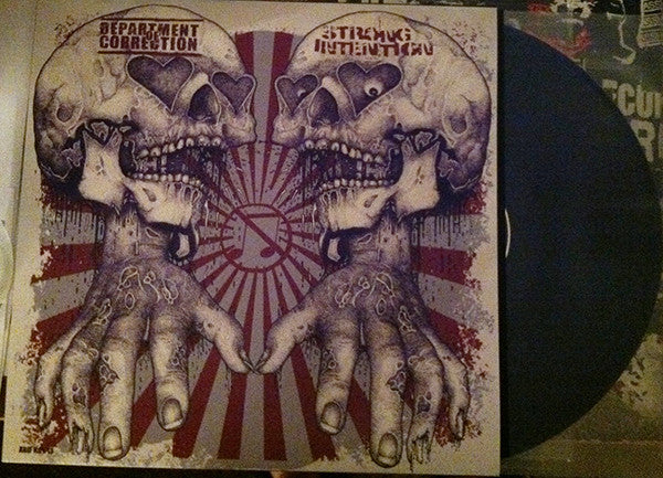 "Strong Intention / Department Of Correction- Split 12"" LP VINYL"