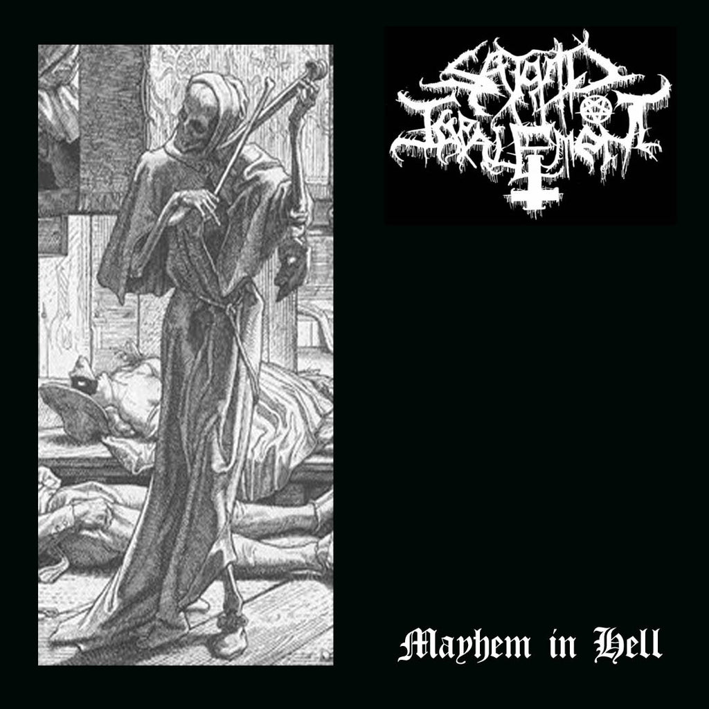 Satanic Impalement- Mayhem In Hell CD on Going Postal Rec.
