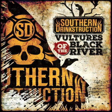 Southern Drinkstruction- Vultures Of The Black River CD on Rotten Roll Rex