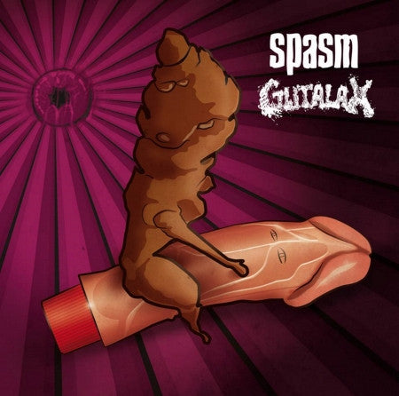 Gutalax / Spasm- Split CD on Rotten Roll Rex