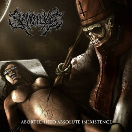 Slamophiliac- Aborted Into Absolute Inexistence CD w/ Bonus Tracks on CDN Rec.