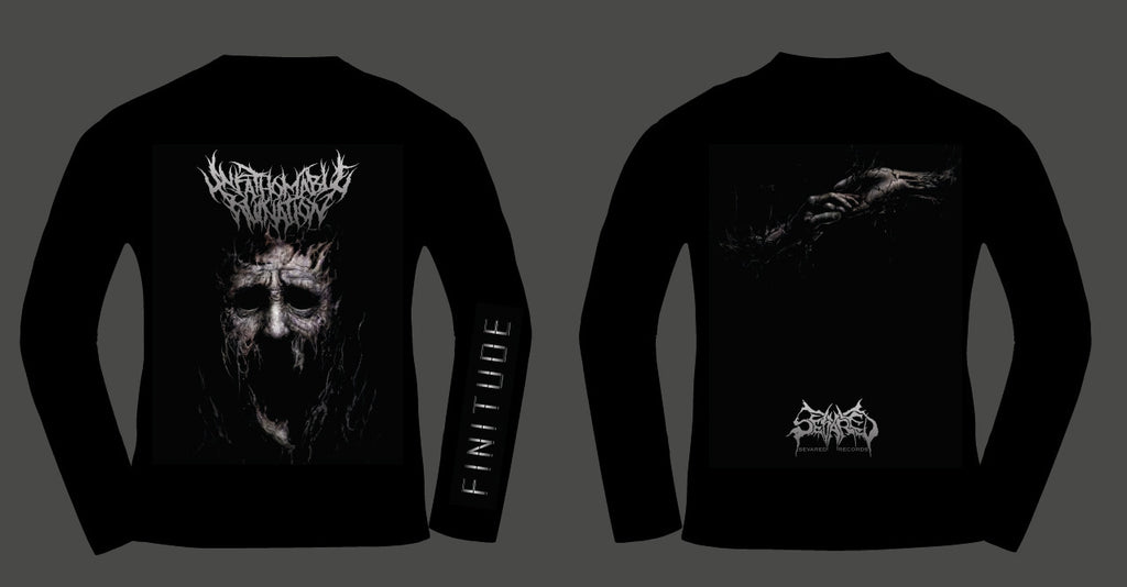 UNFATHOMABLE RUINATION- Finitude LONGSLEEVE T-SHIRT S-XXL OUT NOW!!!