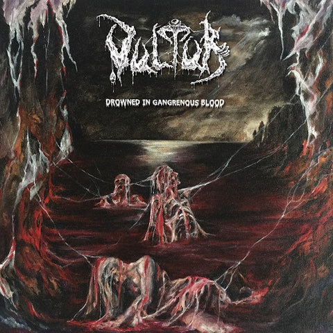 Vultur- Drowned In Gangrenous Blood CD on Memento Mori Rec.