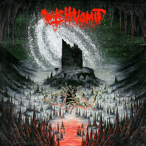Witch Vomit- A Scream From The Tomb Below CD on Memento Mori Rec.