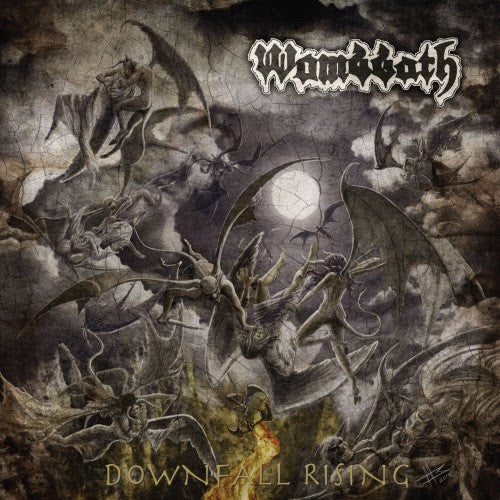 Wombbath- Downfall Rising CD on Dark Descent Rec.