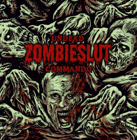 Zombieslut- Undead Commando CD on Rotten Roll Rex