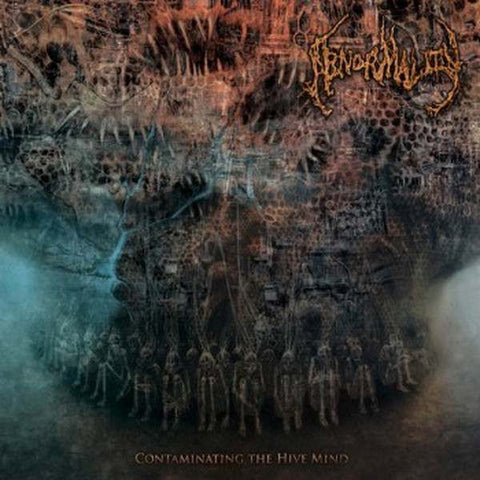 ABNORMALITY- Contaminating The Hive Mind CD on Sevared Rec. BACK IN STOCK!!!