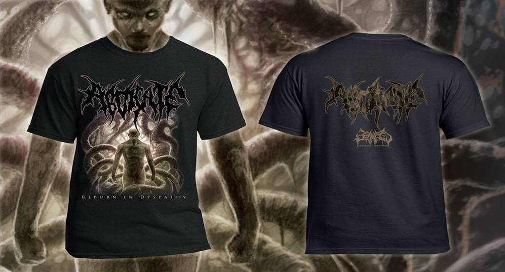 ABDICATE- Reborn In Dyspathy T-SHIRT S-XXXL OUT NOW!!!