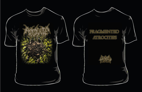 ABDICATE- Fragmented Atrocities T-SHIRT X-LARGE