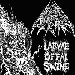 Abhomine (Angel Corpse)- larvae Offal Swine CD on Hells Headbangers