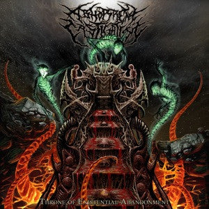 Abhorrent Castigation- Throne Of Existential Abandonment CD on New Standard Elite