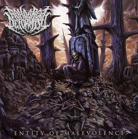 Abhorrent Deformity- Entity Of Malevolence CD on Comatose Music