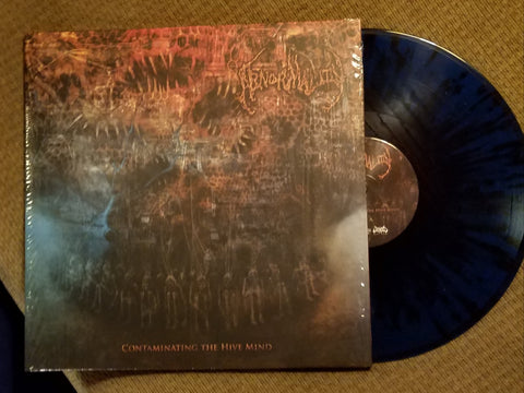"ABNORMALITY- Contaminating The Hive Mind 12"" GATEFOLD LP VINYL on Sevared Rec."