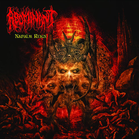 Abominant- Napalm Reign CD on Deathgasm Rec.