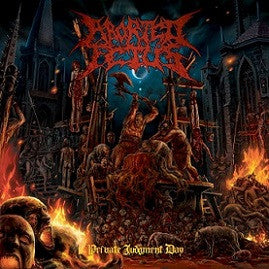 Aborted Fetus- Private Judgement Day CD on Comatose Music