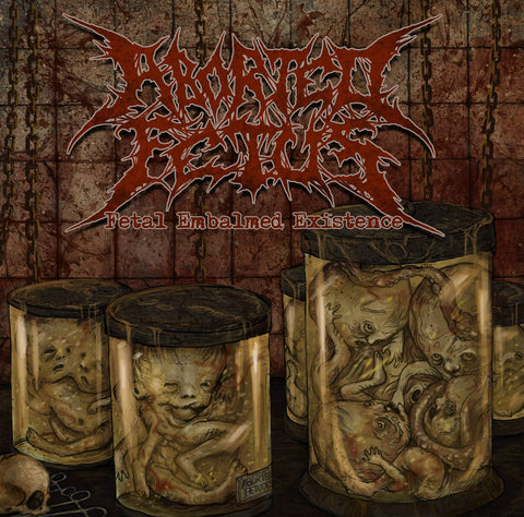 ABORTED FETUS- Fetal Embalmed Existence CD on Sevared Rec.