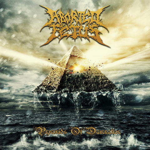 Aborted Fetus- Pyramids Of Damnation CD on Comatose Music