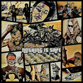 Abuse- Nothing Is Safe CD on Comatose Music