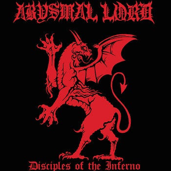 Abysmal Lord- Disciples Of The Inferno CD on Hells Headbangers