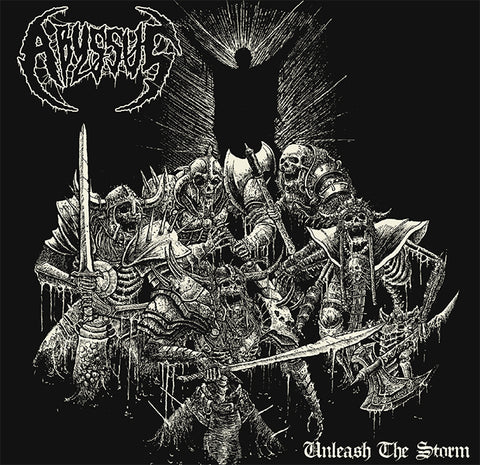 Abyssus- Unleash The Storm CD on Death In Pieces Rec.