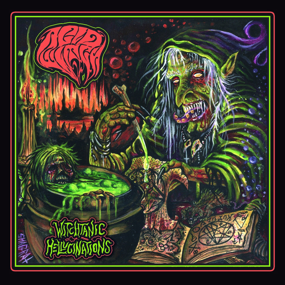 Acid Witch- Witchtanic Hellucinations CD on Hells Headbangers