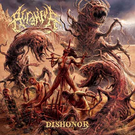 Acranius- Dishonor CD on Rising Nemesis Rec.