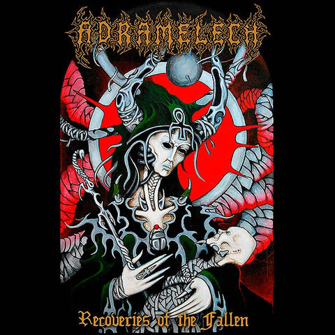 Adramelech- Recoveries Of The Fallen CD on Xtreem Music