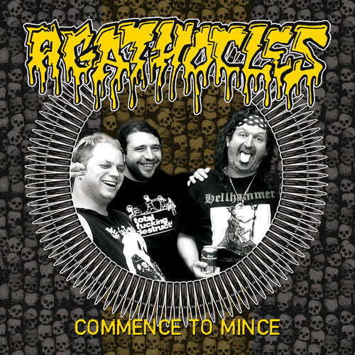 Agathocles- Commence To Mince CD on Self Made God