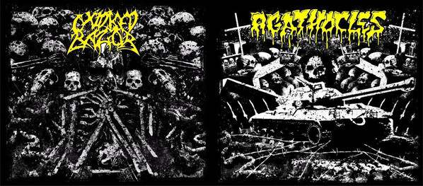 Agathocles / Oxidised Razor- Split DIGI-CD