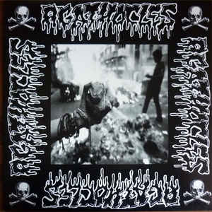 "Agathocles / Pancities- Split 12"" LP VINYL on Haunted Hotel Rec."