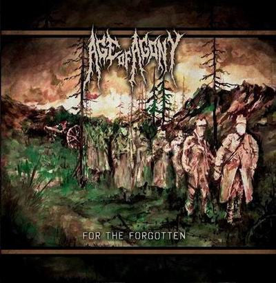 Age Of Agony- For The Forgotten CD on Neverheard Distro