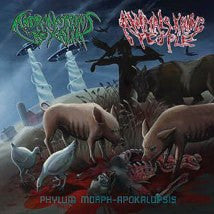 ANIMALS KILLING PEOPLE / ANDROMORPHUS REXALIA- Split CD on Sevar