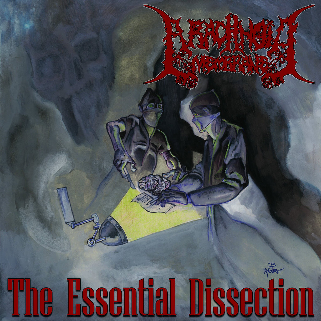 ARACHNOID MEMBRANE (Krotchripper / Mouthing The Offal)- The Essential Dissection EP on Sevared Rec.