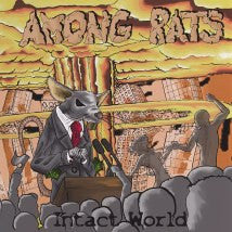 AMONG RATS- Intact World CD on Rebirth The Metal Rec.