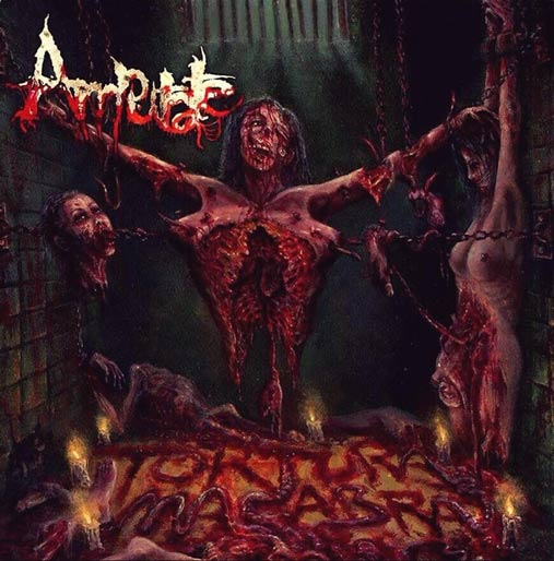 Amputate- Tortura Macabra CD on Rebirth The Metal