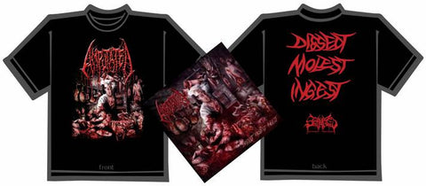 AMPUTATED- Dissect.. CD / T-SHIRT PACKAGE X-LARGE